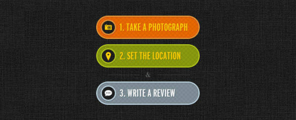 3 call to action buttons