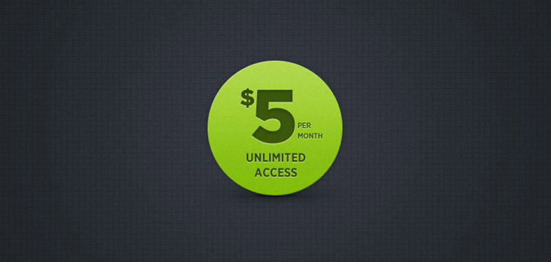 Big Green Button (PSD)