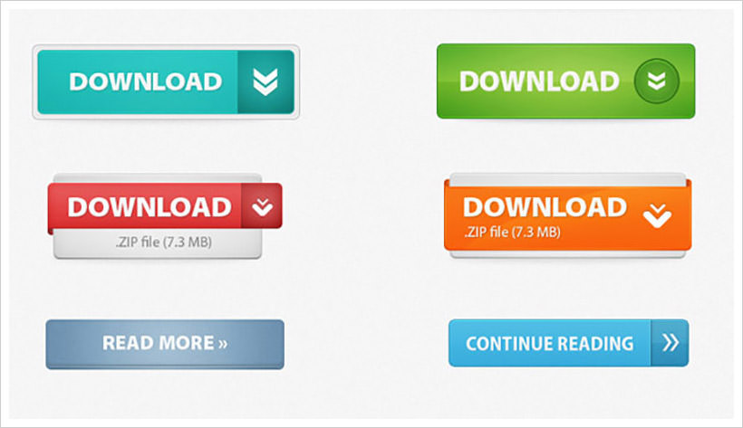 Web 2.0 Buttons Kit