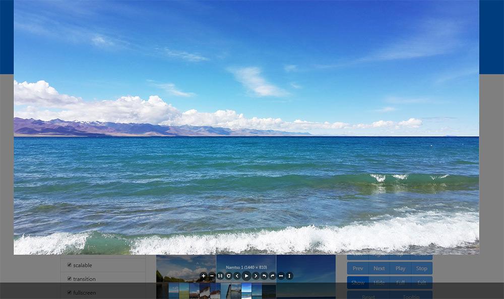 viewer image slideshow plugin