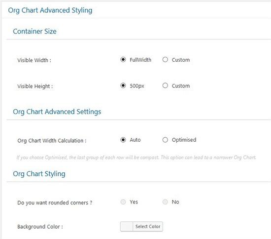 Chart Advanced Styling