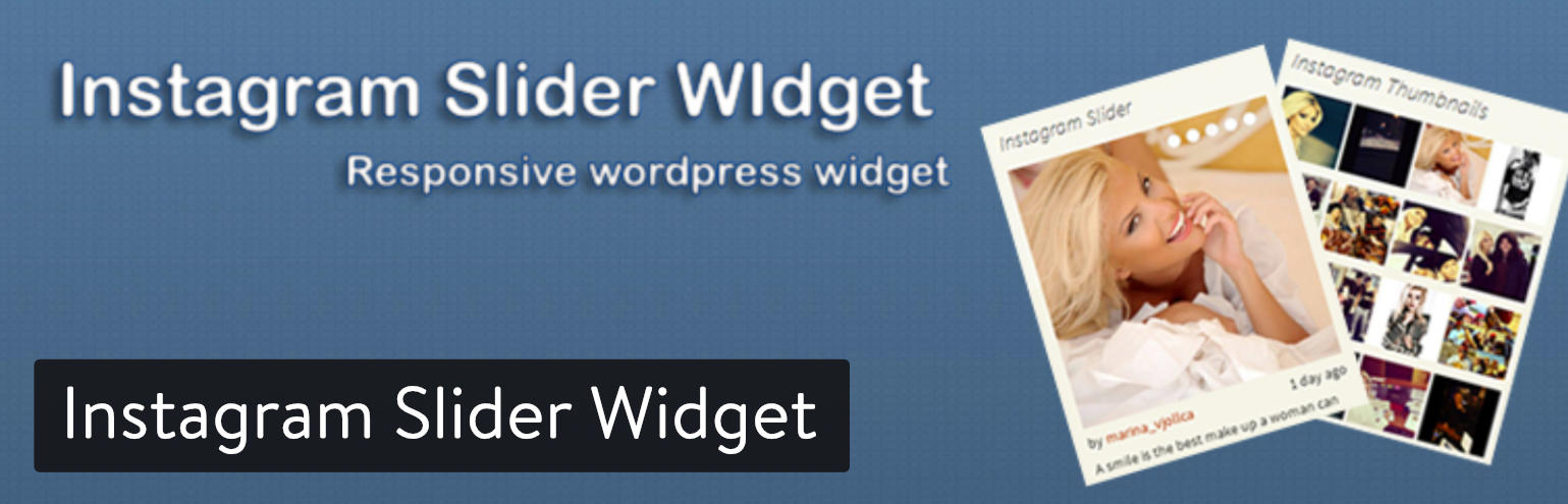 Instagram Slider Widget WordPress plugin
