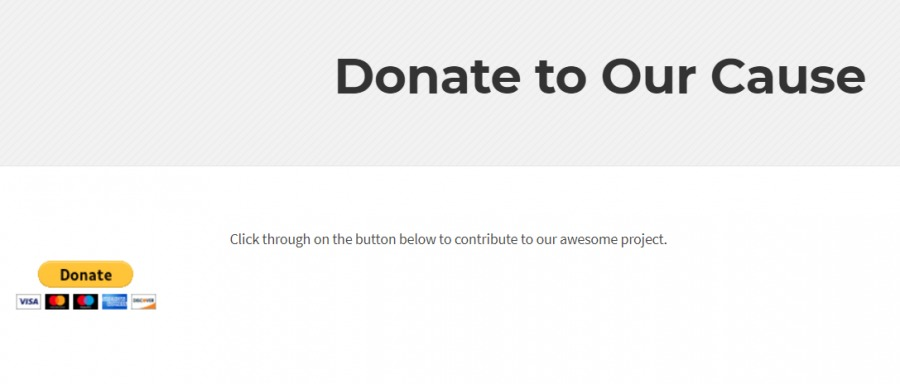 Preview PayPal donate button