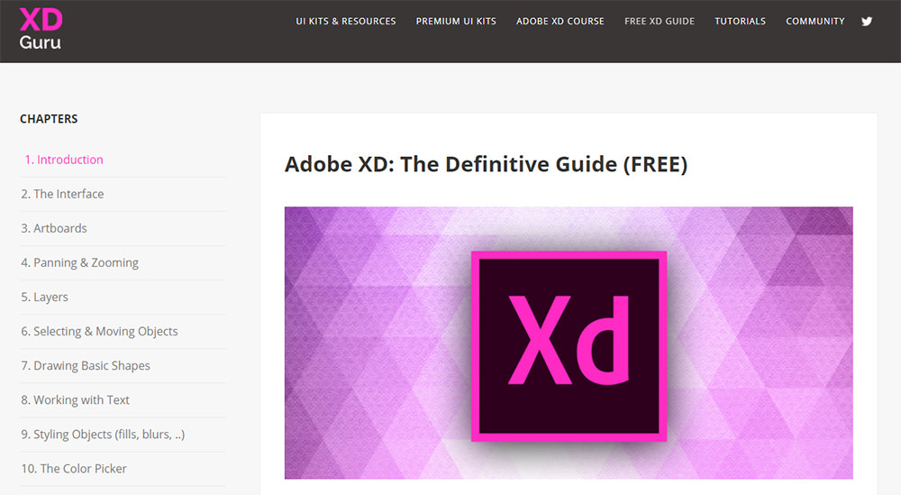 adobexd beginner guide