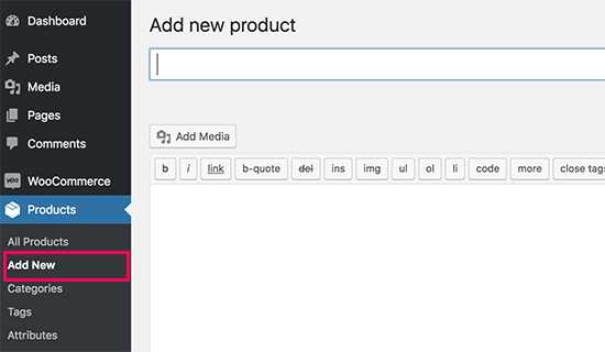 Add new product