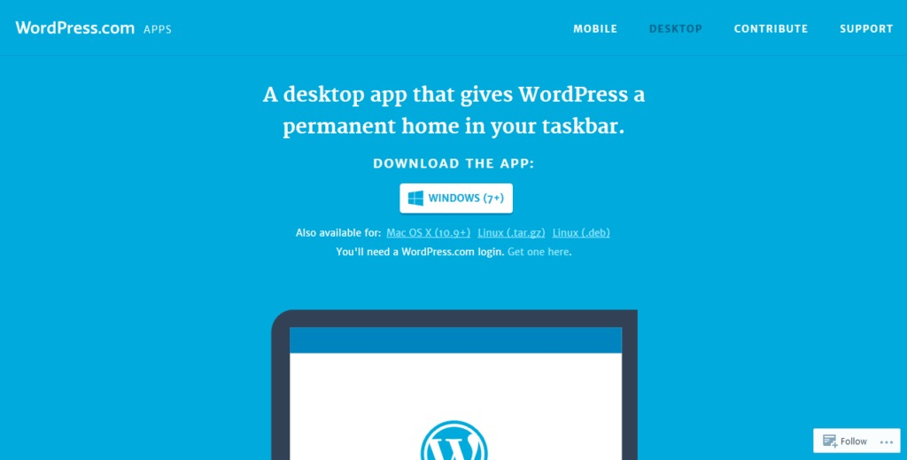 download wordpress desktop app
