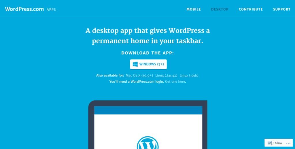 download wordpress desktop app