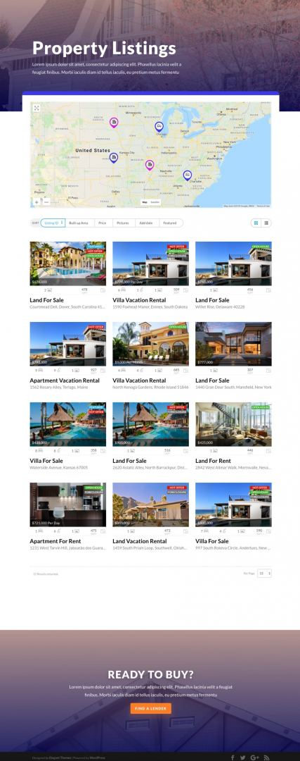 final listings page