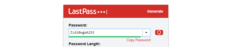 A password generator.