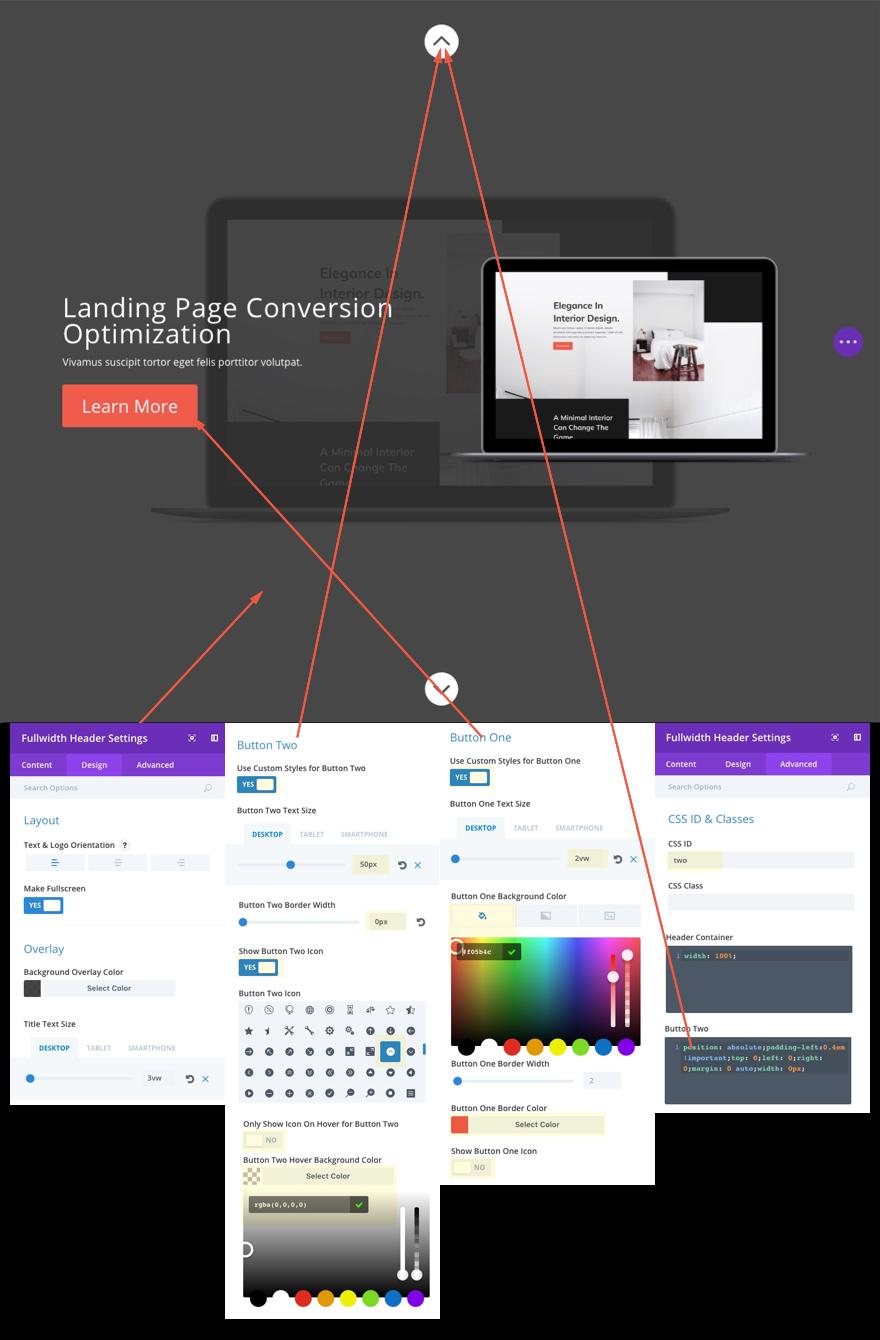 fullscreen section2design