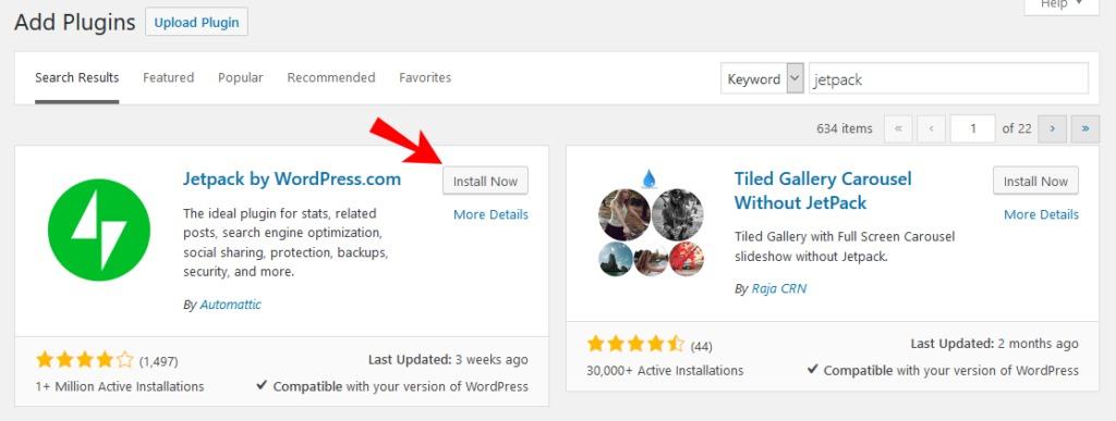 wordpress desktop app install jetpack