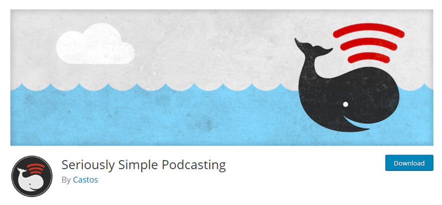 Seriously Simple Podcasting plugin for WordPress by Castos