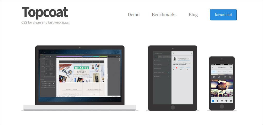 topcoat framework homepage