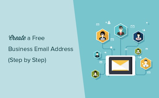 Creating a free business email address