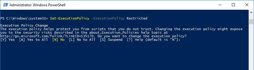 How to use Set-ExecutionPolicy