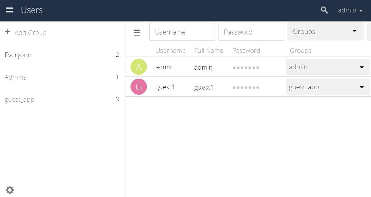 ownCloud has Guests feature