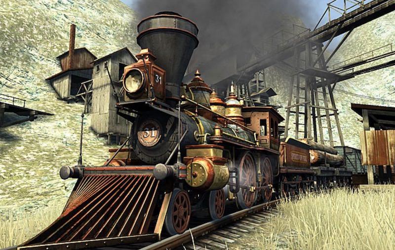 western-railway-3d