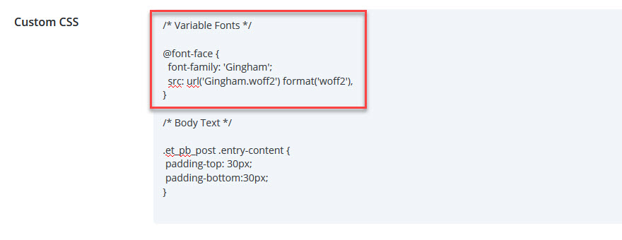 How to Use Variable Fonts in WordPress
