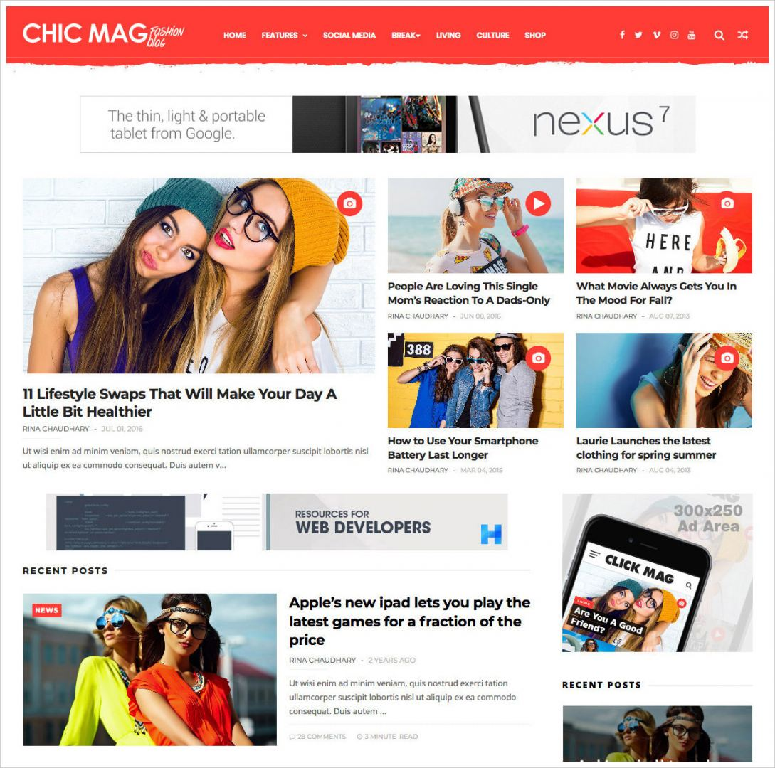 Chicmag-Fashion-Blogger-Template