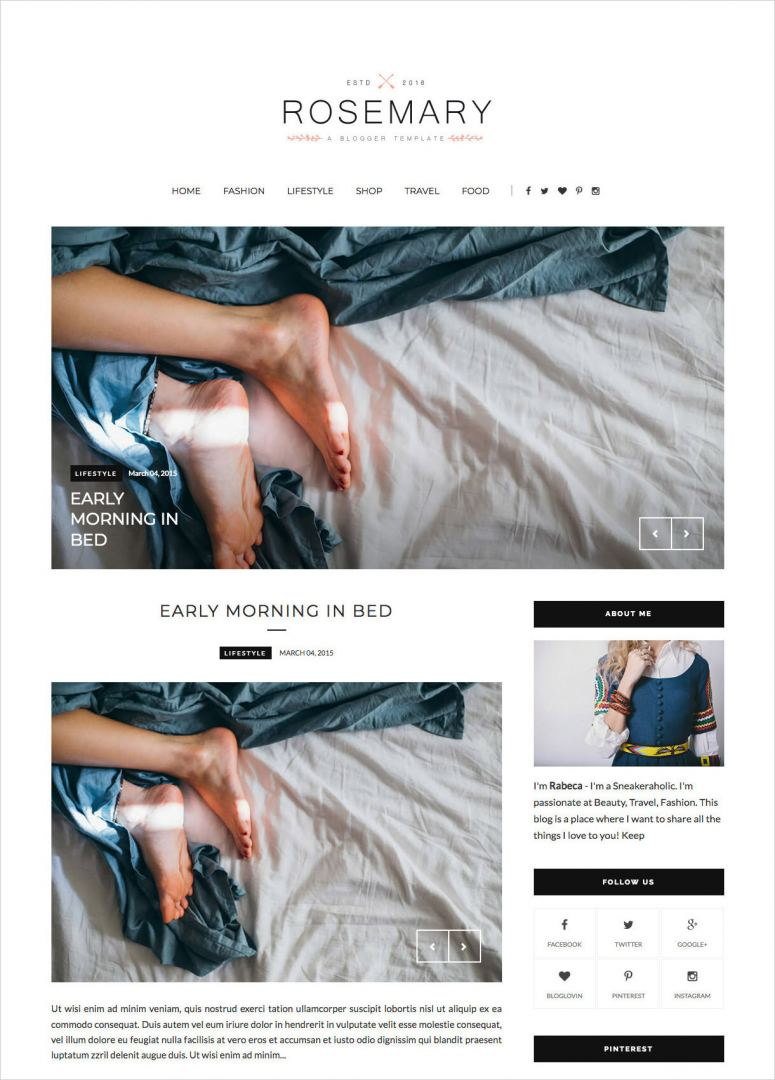 Rosemary-Clean-Responsive-Blogger-Template