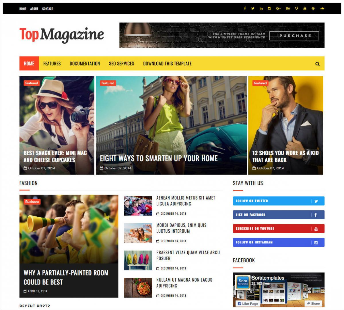 Top-Magazine-Template