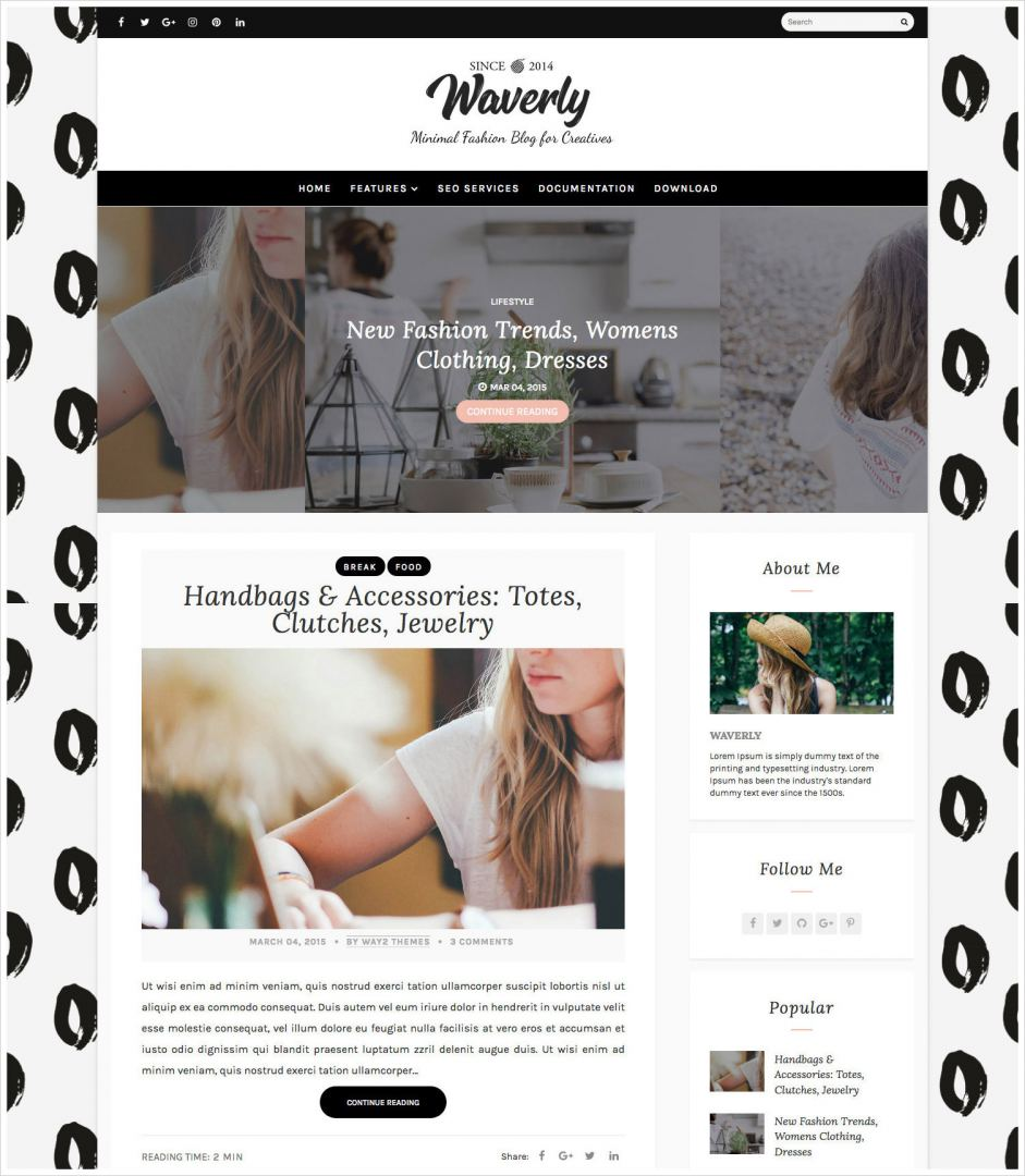 Waverly-Blogger-Template