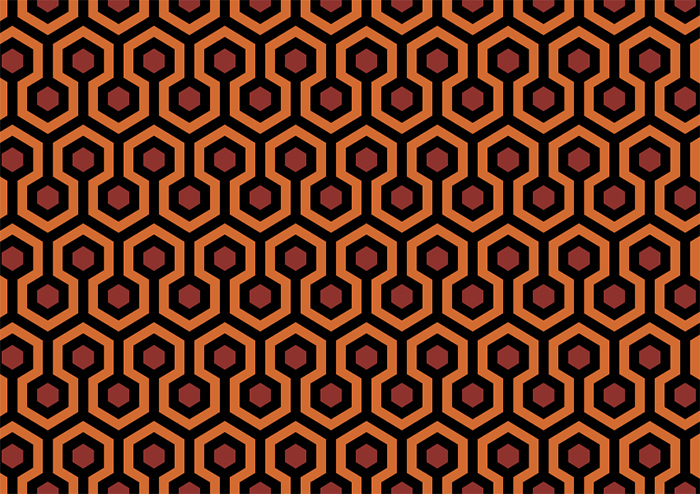 """Carpet Pattern From """"The Shining"""""""