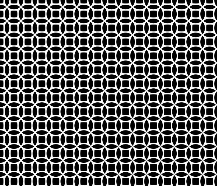 Seamless, Circular, Geometric Background Pattern