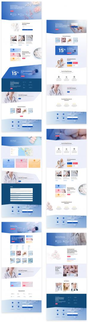 pharmacy layout
