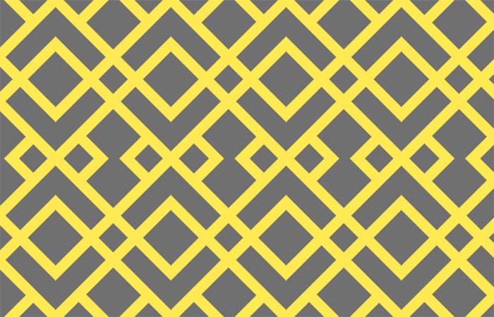 Intertwining Trellis Pattern