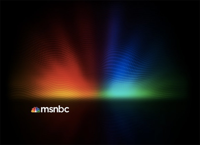 MSNBC New Background Design