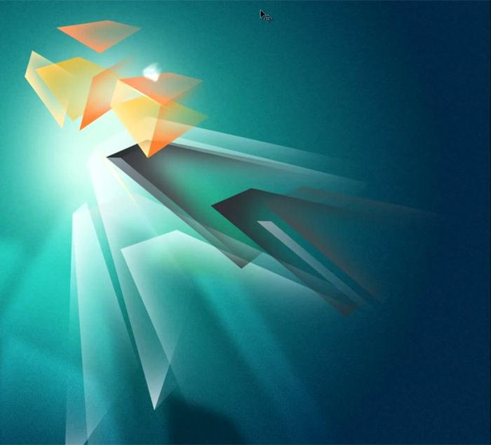 "Abstracts ""Polygon Blast"""
