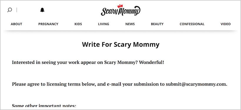 scarymommy-sites-pay-to-write-blog