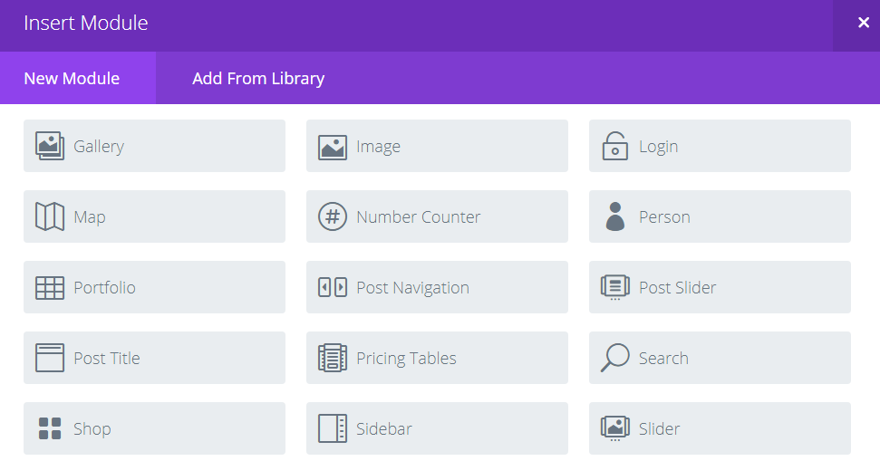 The Divi Sidebar module.