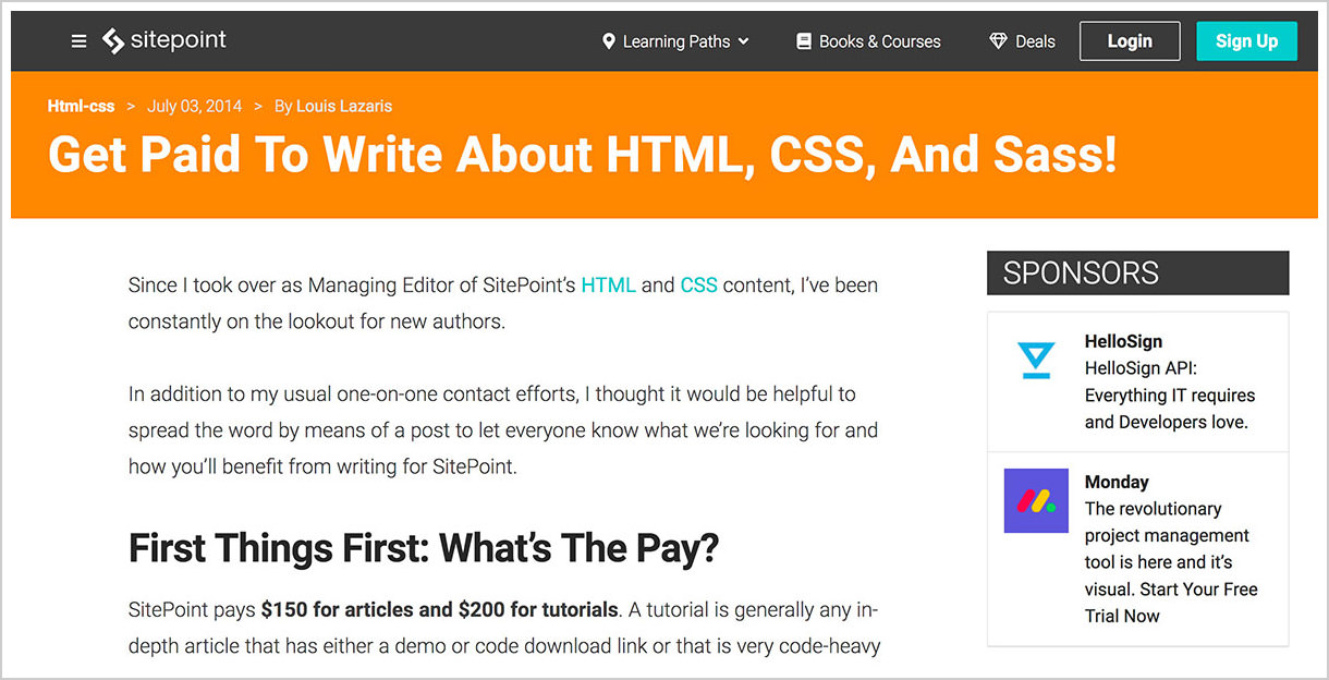 sitepoint-sites-pay-to-write-blog
