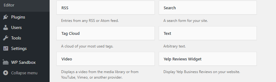 Add Yelp reviews to WordPress using a widget.