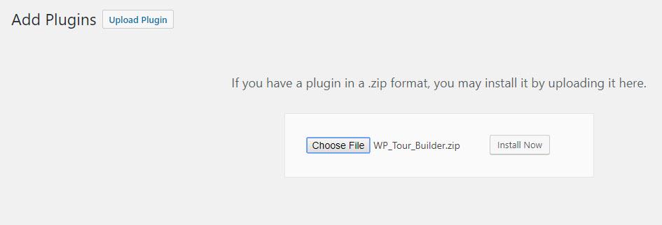 website tour builder