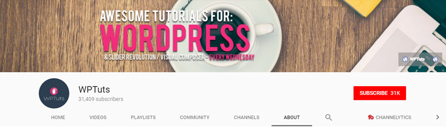 Best WordPress YouTube Channels