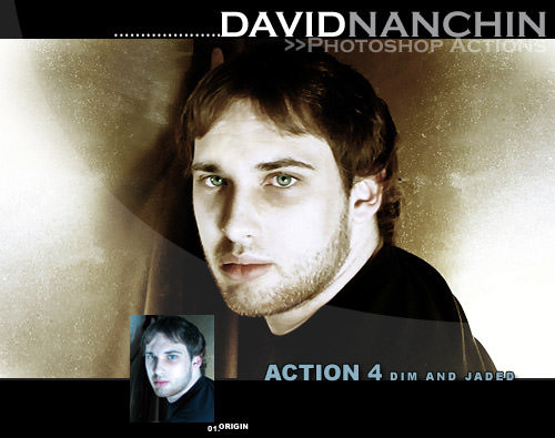 Photoshop Action: Dim and Jade
