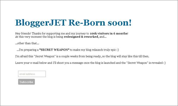 Blogger Jet