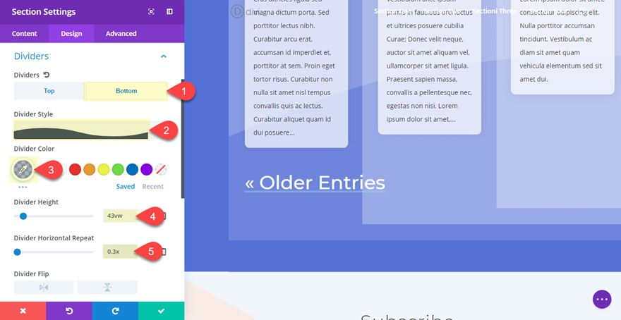 blog grid layout