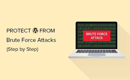 protecting WordPress from brute force attacks