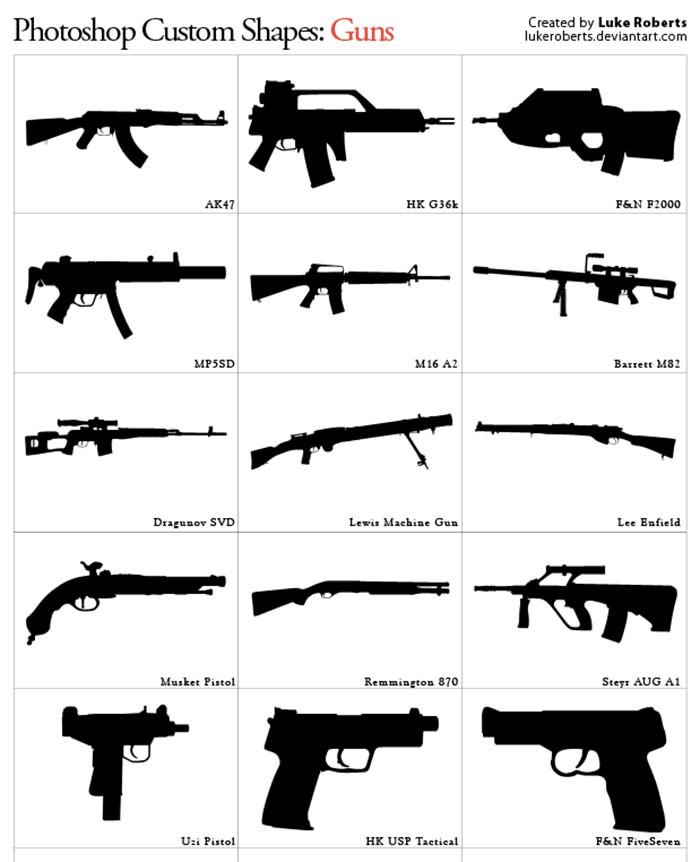 mcustom-shapes-guns