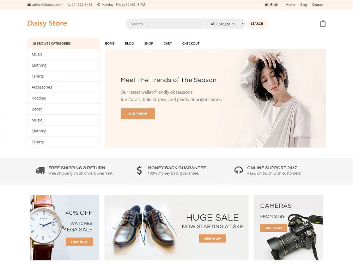 daisy-store-wordpress-theme