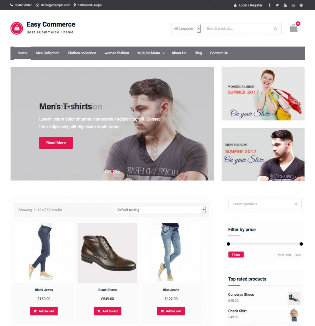easy-commerce-WordPress-theme