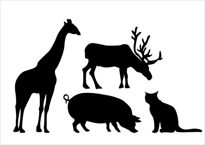 animal-silhouettes-photoshop-brushes