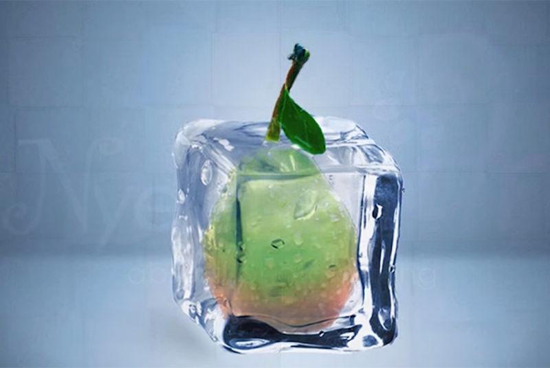 Frozen Ice Cubes 3D Effect Photoshop Tutorial