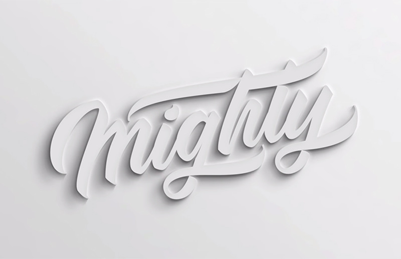 How to make 3D text