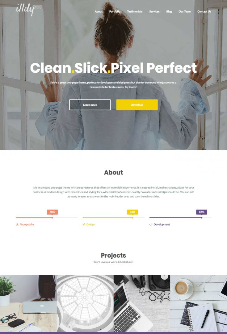 illdy-WordPress-theme