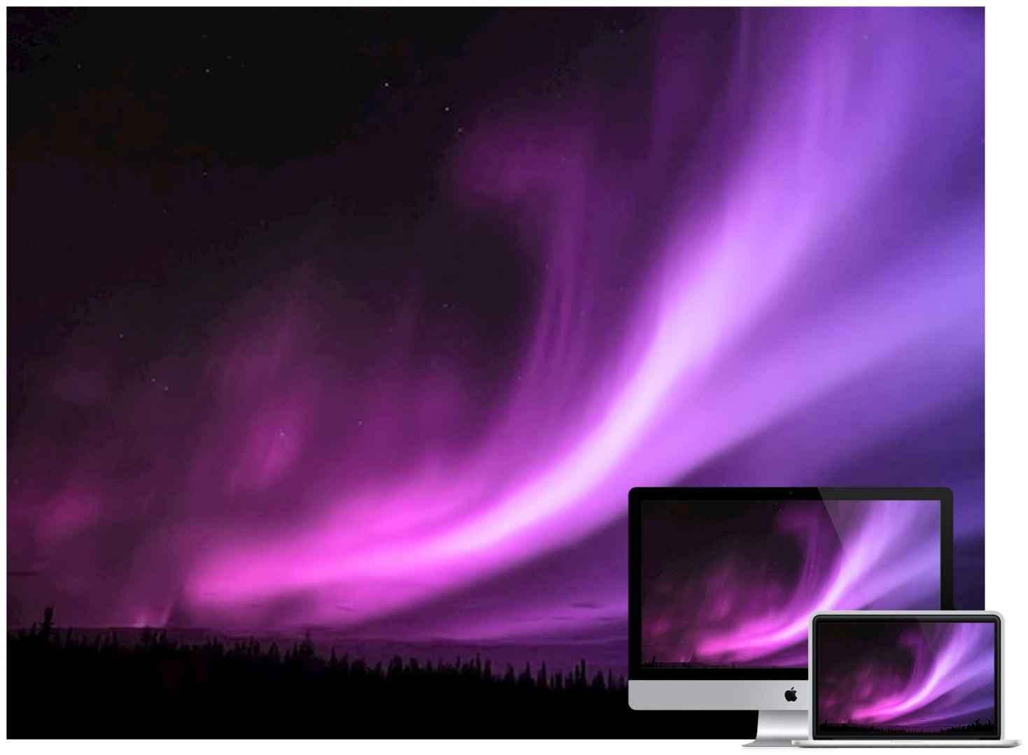 purple-aurora-borealis